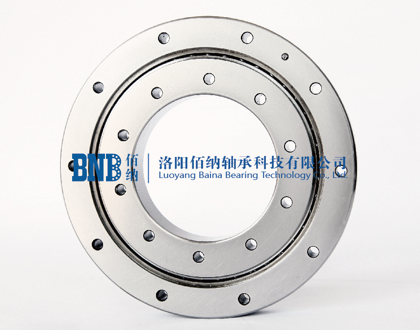 Cross roller bearings CRBF type (with mounting pass)